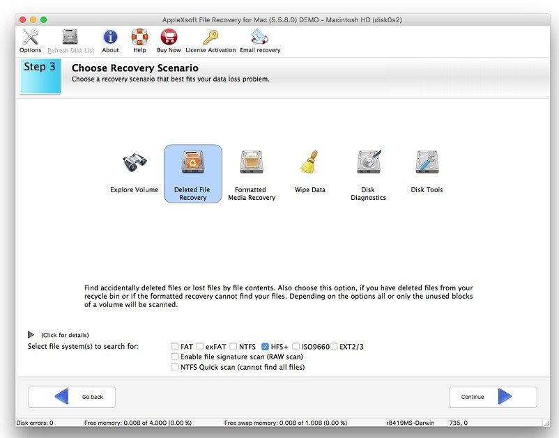 file recovery for mac 5.5