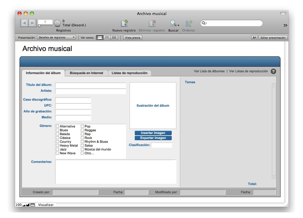 FileMaker Mac image 5