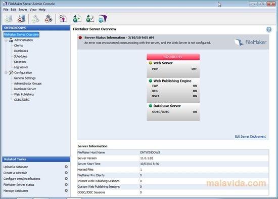 Download FileMaker Server free
