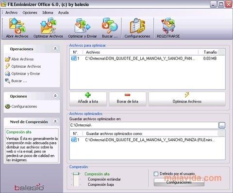 FILEminimizer Office image 4