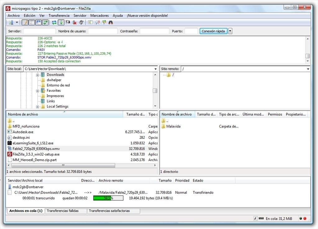 FileZilla image 5