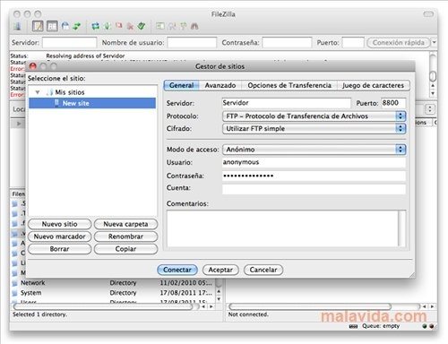 FileZilla Mac image 4