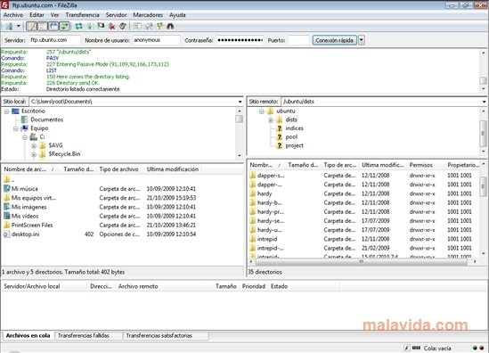 FileZilla Portable image 4