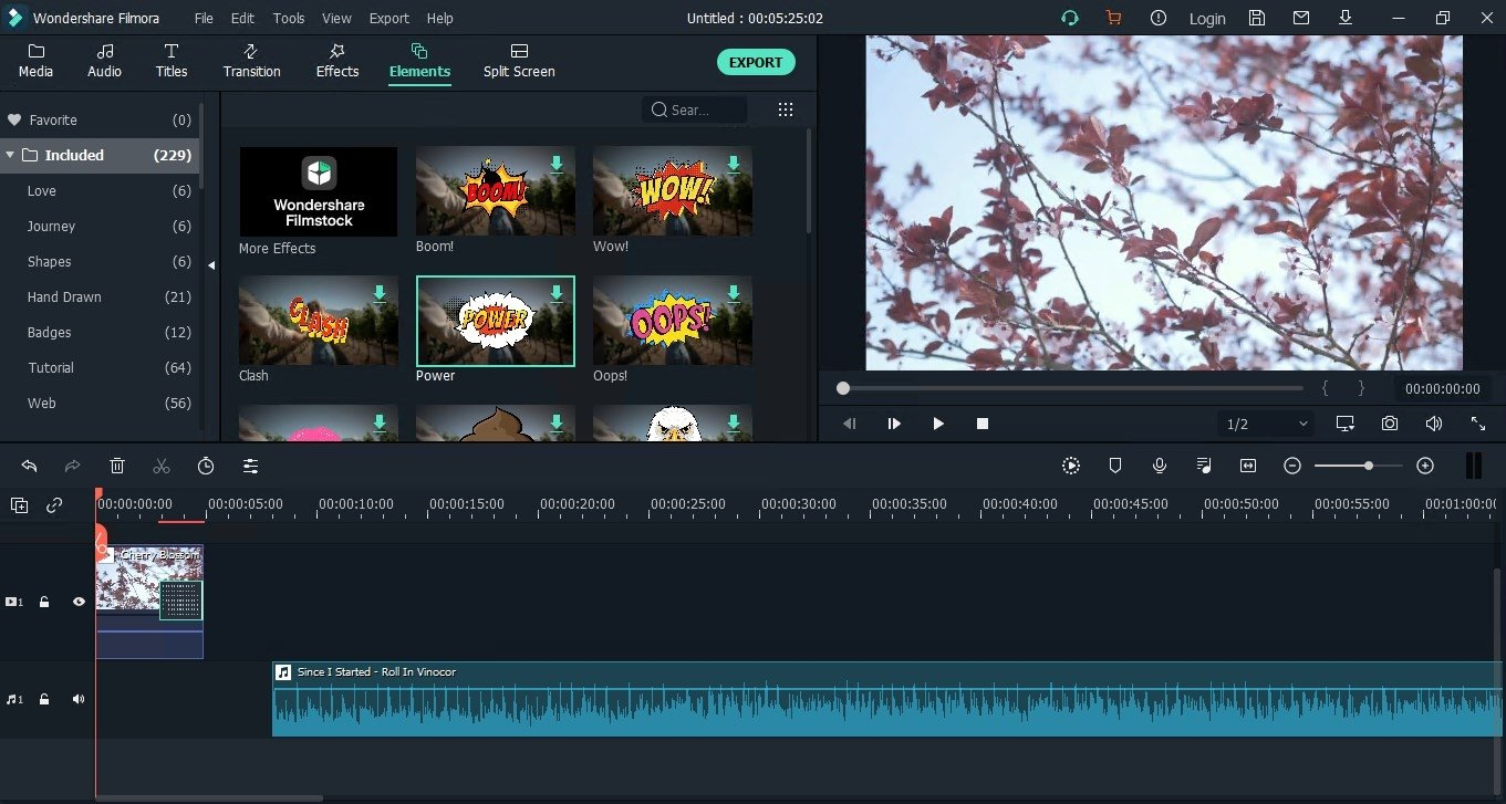 wondershare movie maker for windows 10