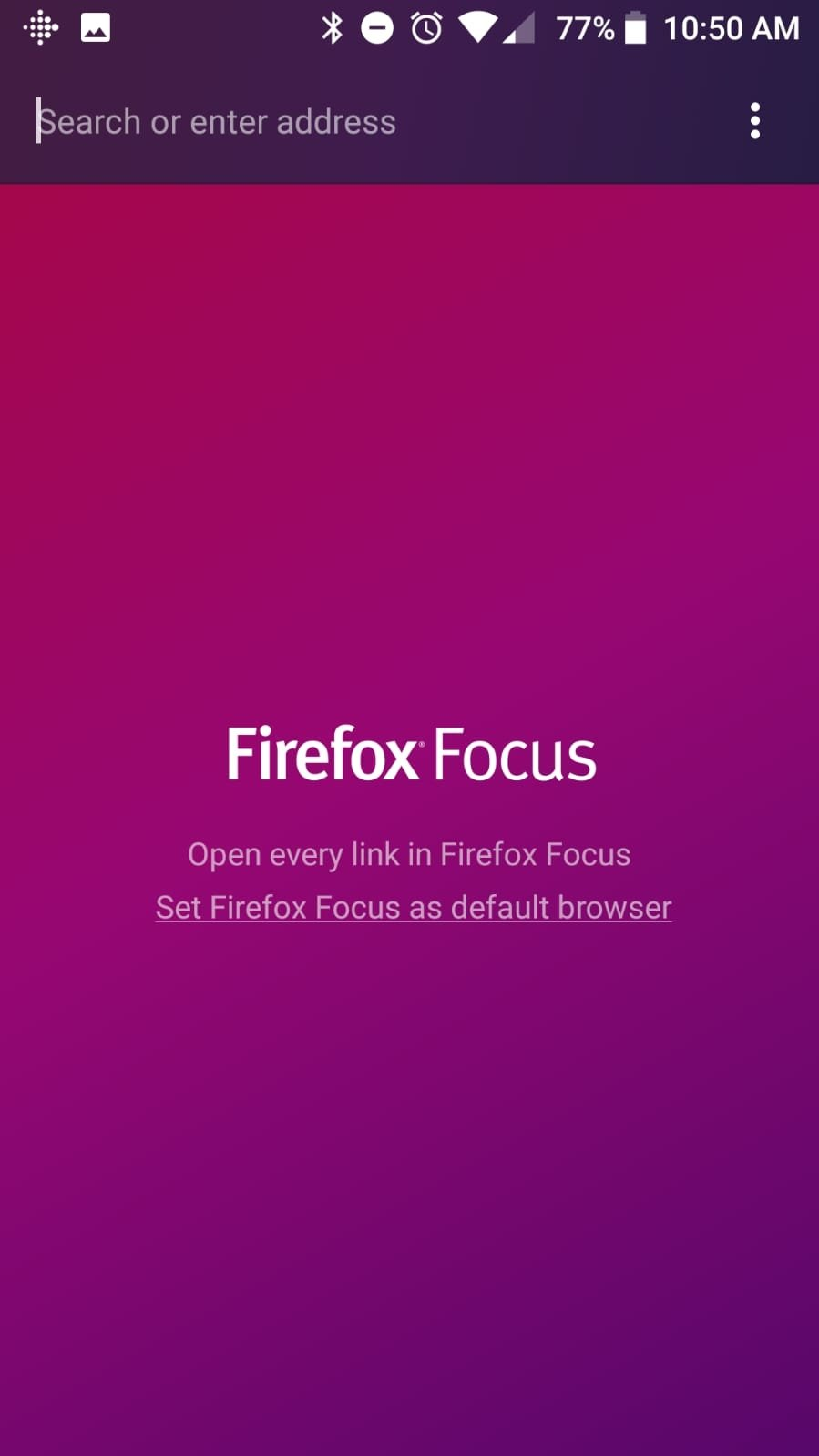 Firefox Focus Android image 2