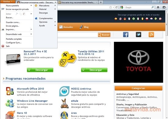 Firefox Portable image 4