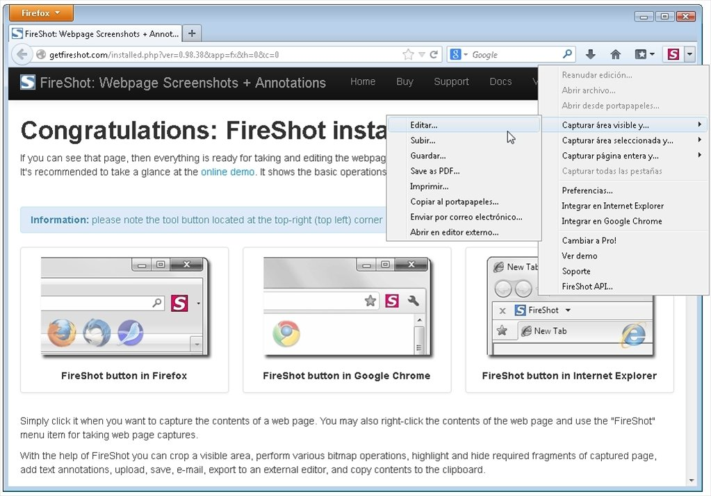 FireShot 0 98 95 1 - Download for PC Free