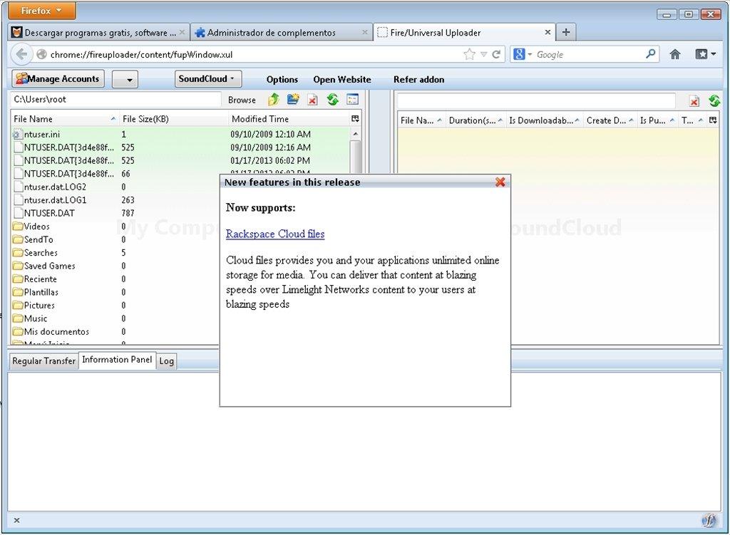 Fireuploader 0 5 - Download for PC Free