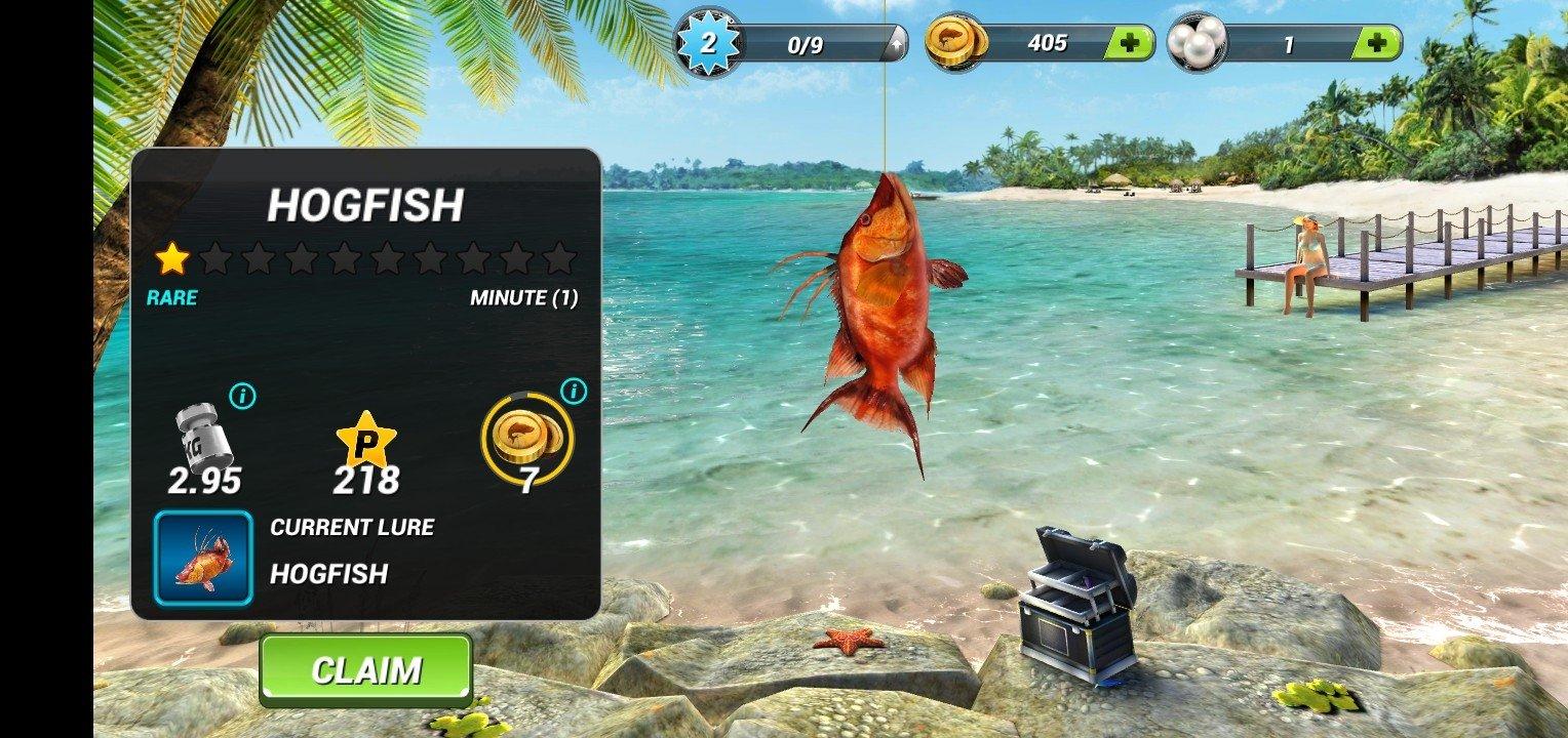 игра рыболовный крючок деньги
