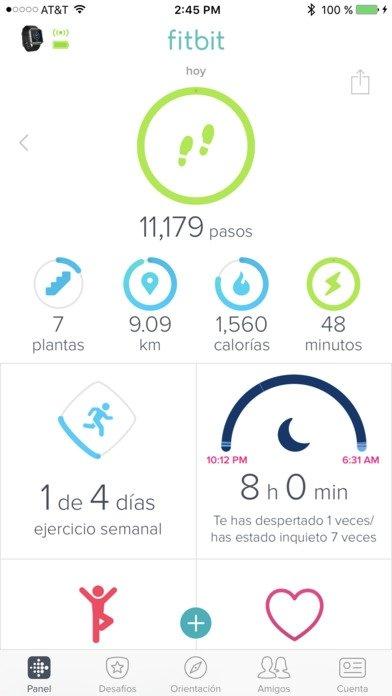 Fitbit iPhone image 5