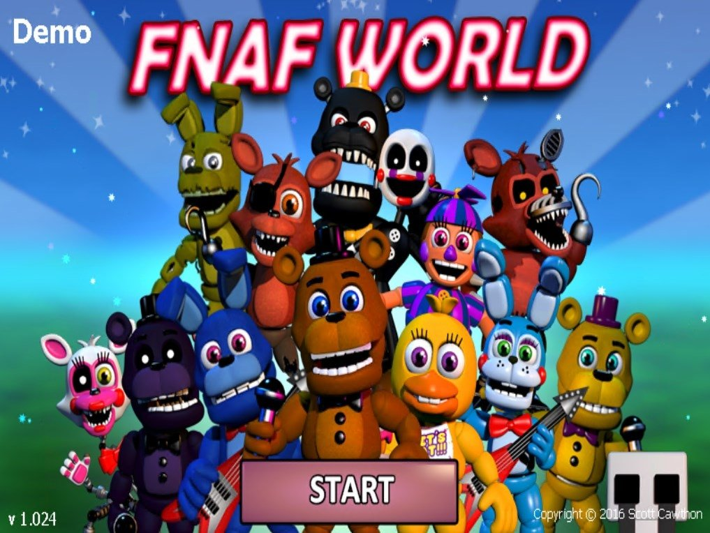 Five Nights at Freddy's World - Download for PC Free