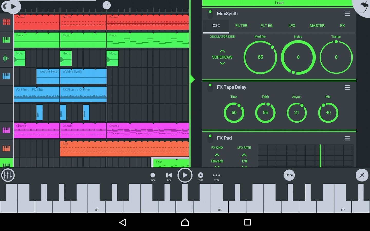 FL Studio Mobile 3 2 41 - Download for Android Free