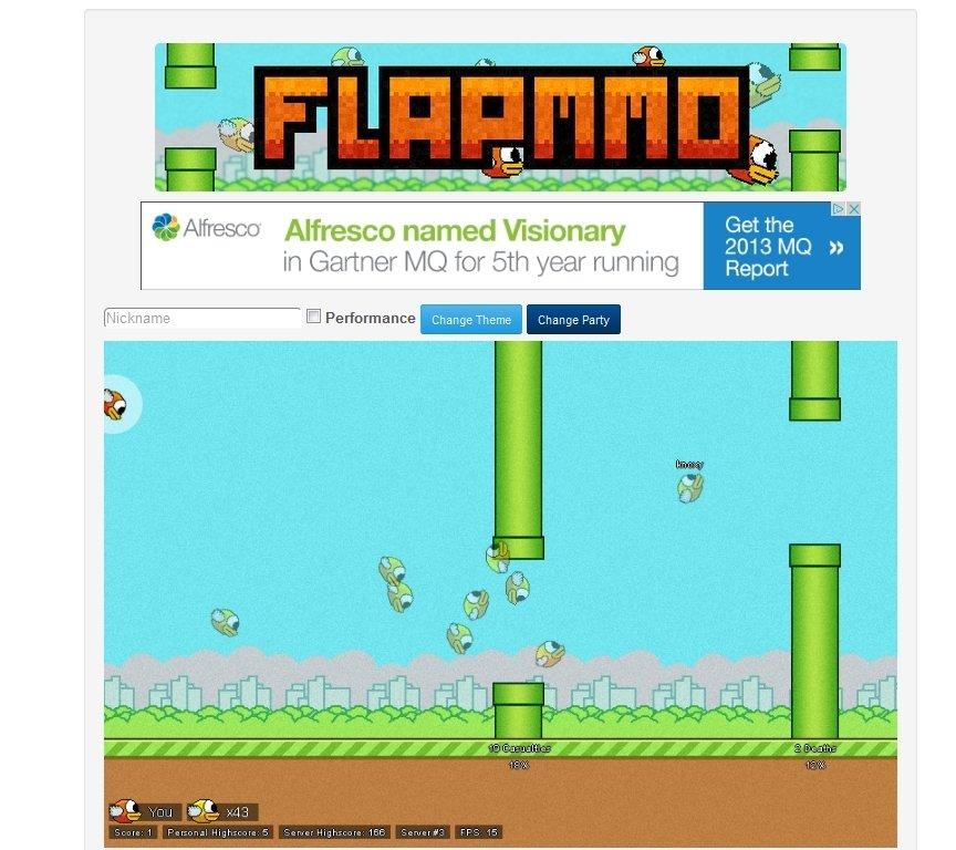 FlapMMO Webapps image 4