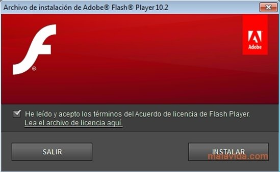 el ultimo adobe flash player descargar