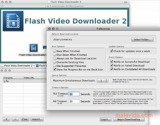Flash Video Downloader Mac image 5