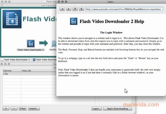 download flash video from website