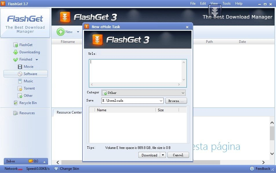 gratuitement logiciel flashget