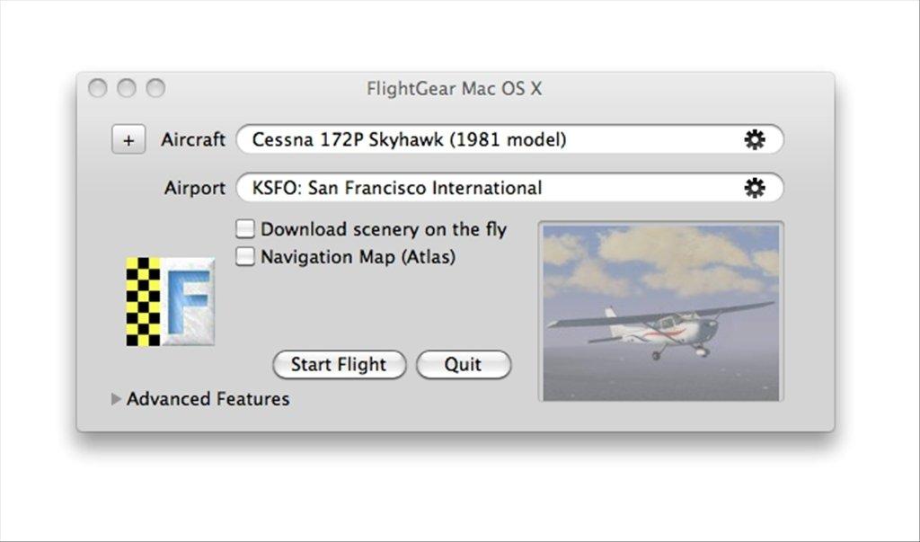 FlightGear 2018 3 2 - Download for Mac Free