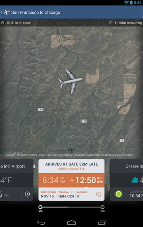 FlightTrack Android image 5