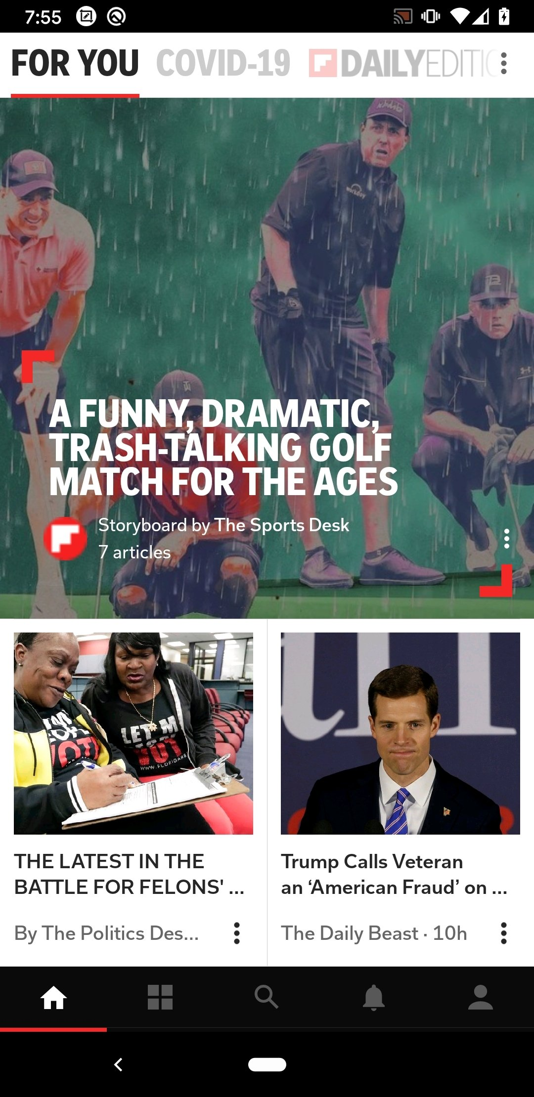 Flipboard Android image 5