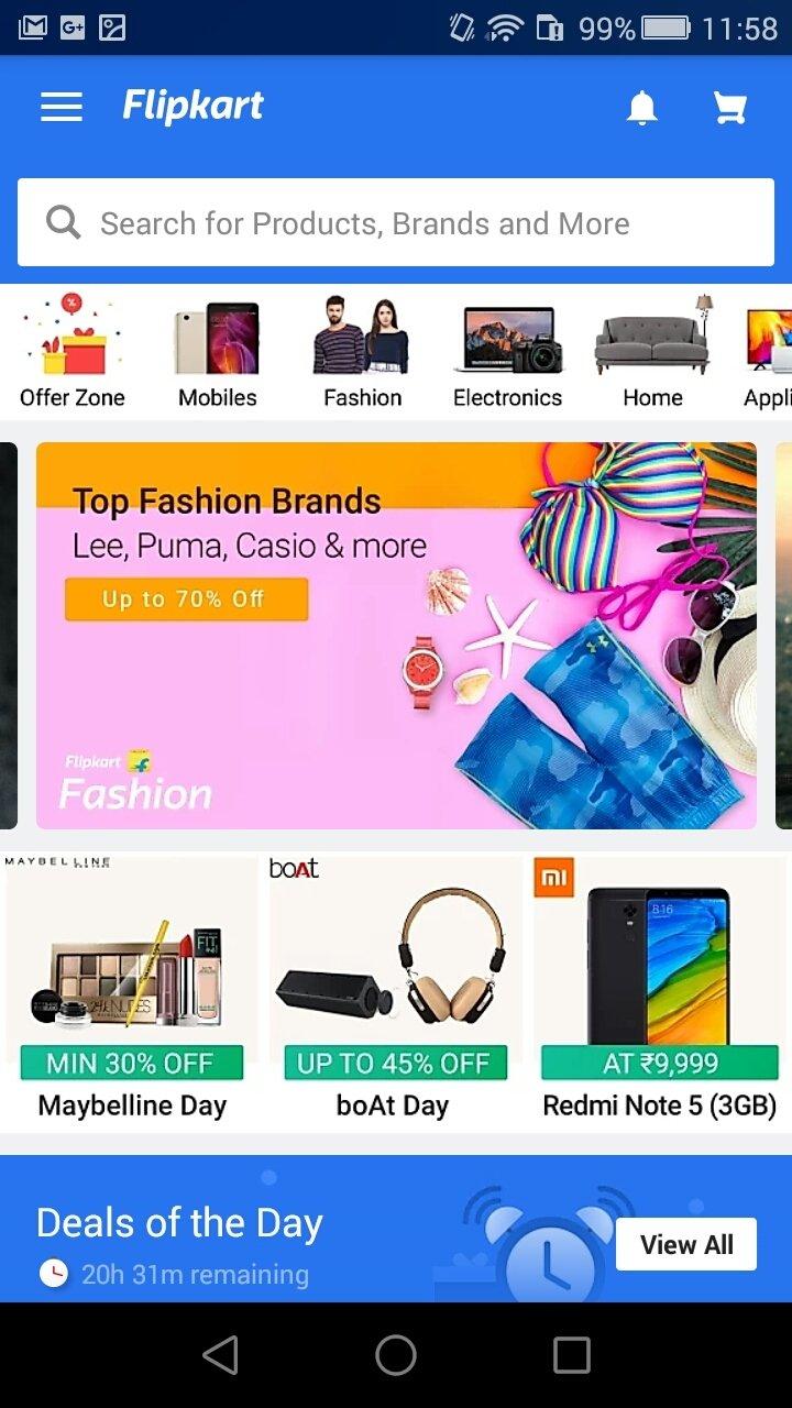 flipkart apps for download