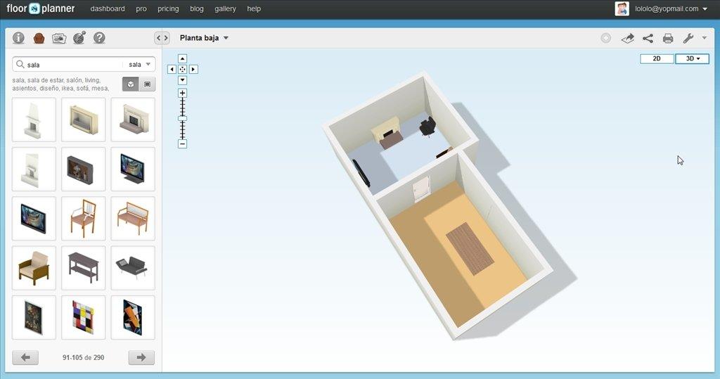 Houses Floorplanner Rooms