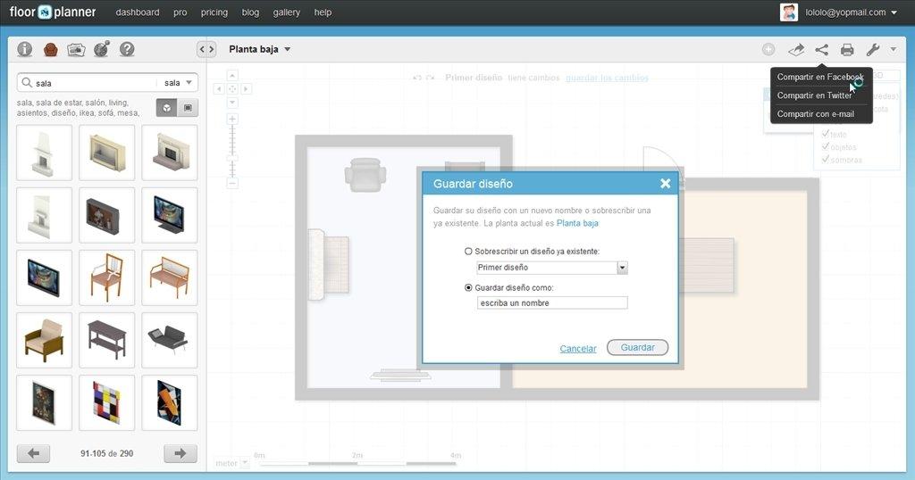 floorplanner online espa ol gratis