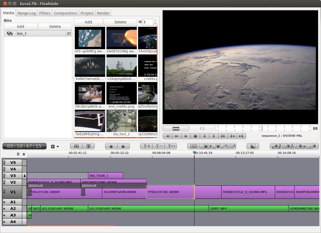 Flowblade Linux image 2
