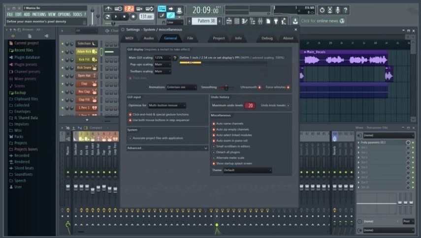 FL Studio Fruity Loops 11.0.0