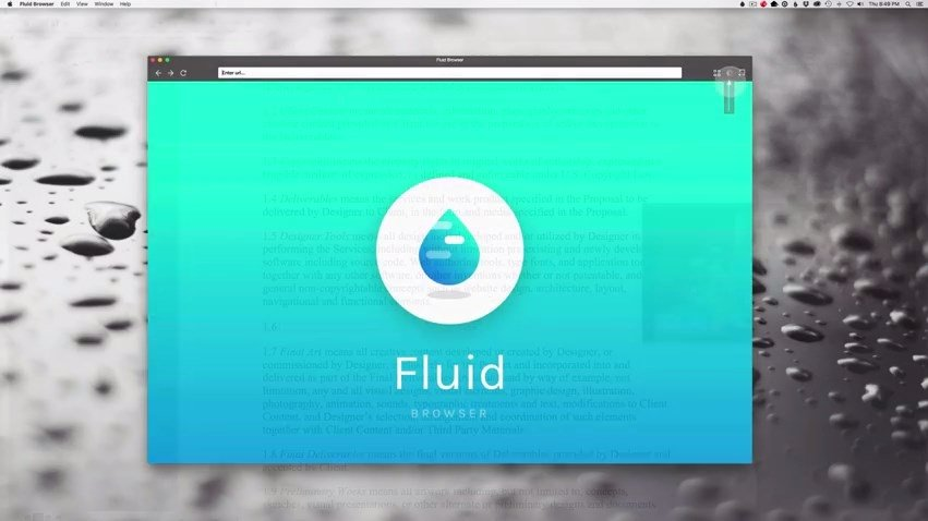 Fluid Browser Mac image 5