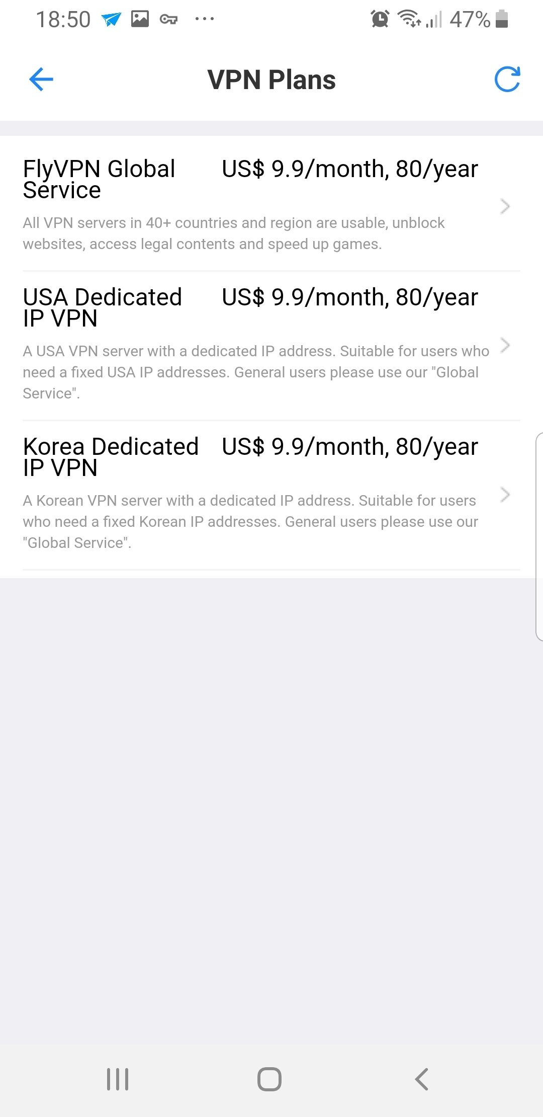 FlyVPN 4 7 1 2 - Download for Android APK Free