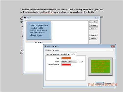 FocusWriter image 4