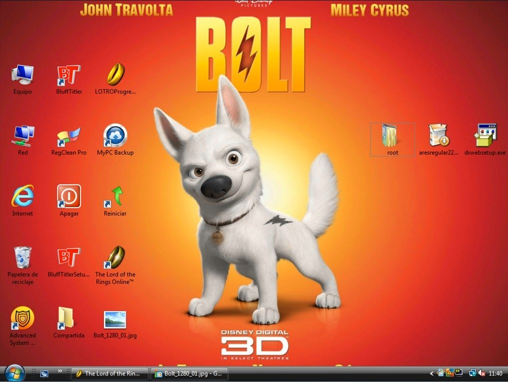 Bolt wallpaper download per pc gratis