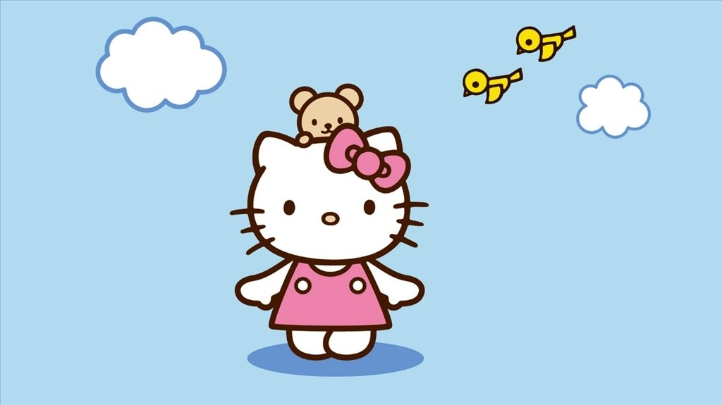 Hello Kitty Wallpaper image 2
