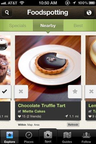 Foodspotting iPhone image 5