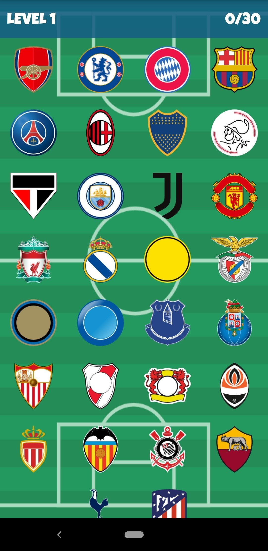 Football Clubs Logo Quiz Android image 6