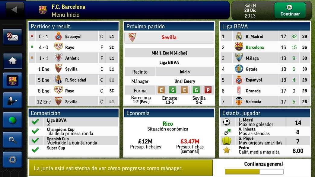 Football Manager Android image 8