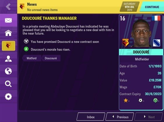 FOOTBALL MANAGER MOBILE 2019 IPHONE GRATIS