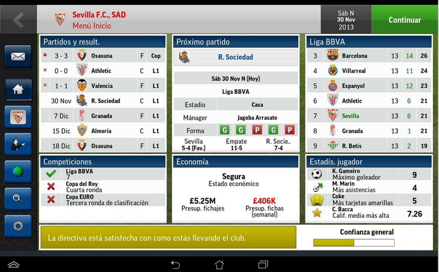 Football Manager Handheld 2015 Android image 4