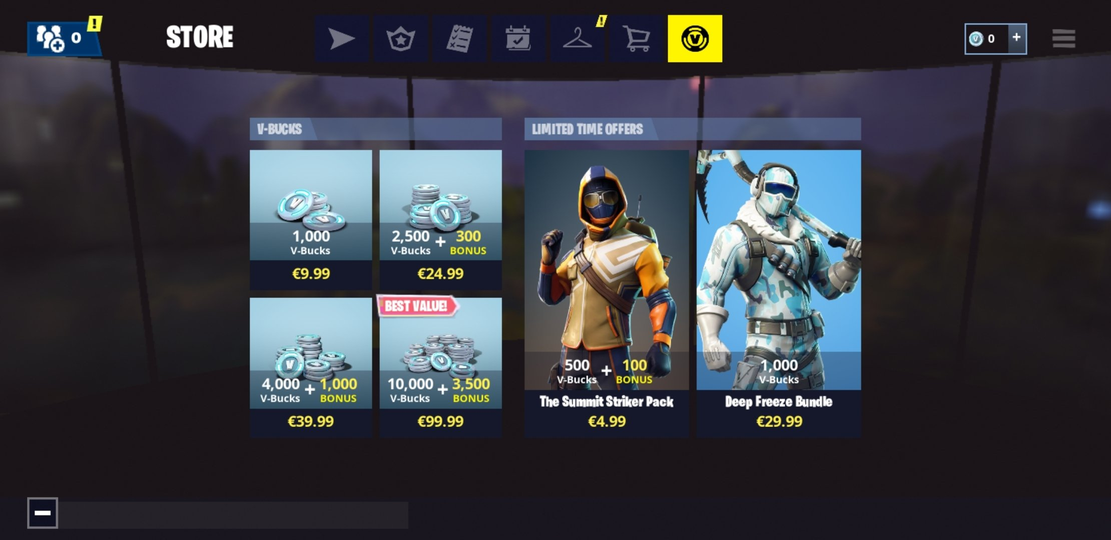 Fortnite 7 10 0 4669483 Download Fur Android Apk Kostenlos