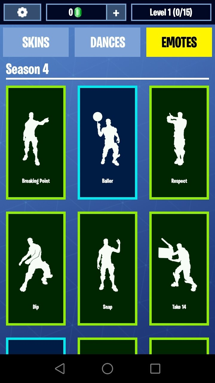 Fortnite Dances Emotes Skins 9 2 Download For Android Apk Free