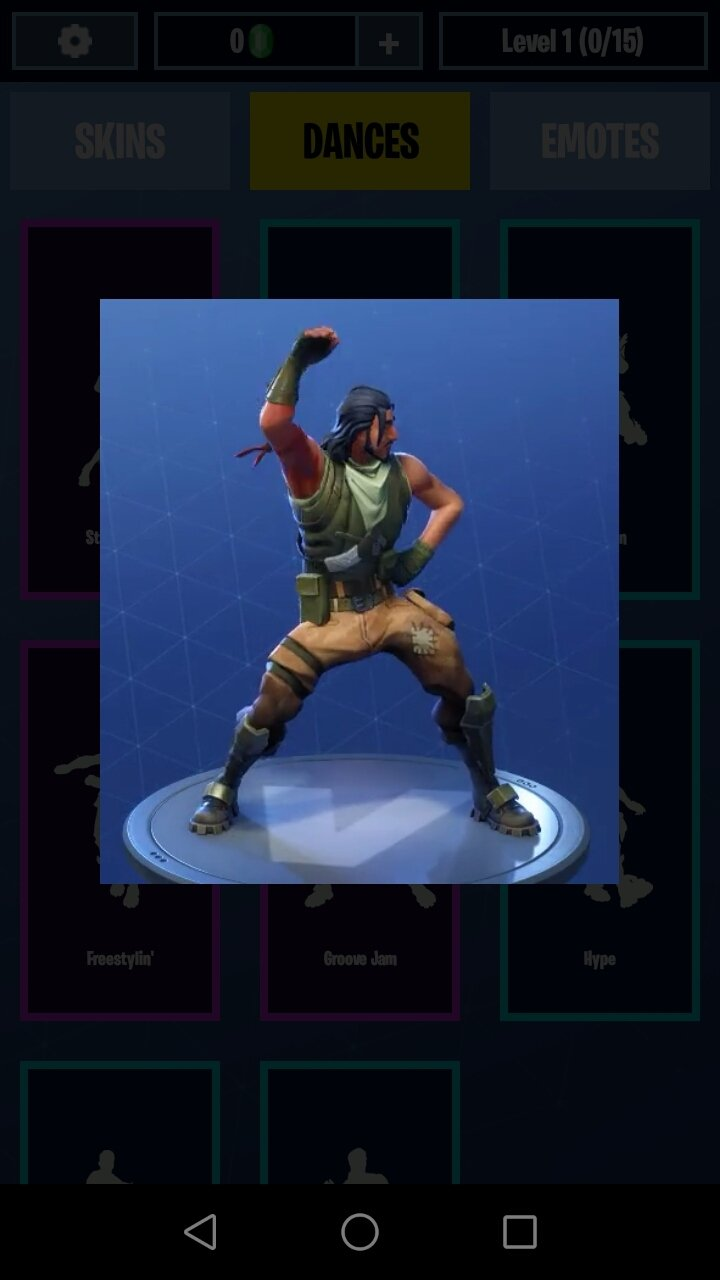 Download Fortnite Dances Emotes Skins 9 2 Android Apk Free