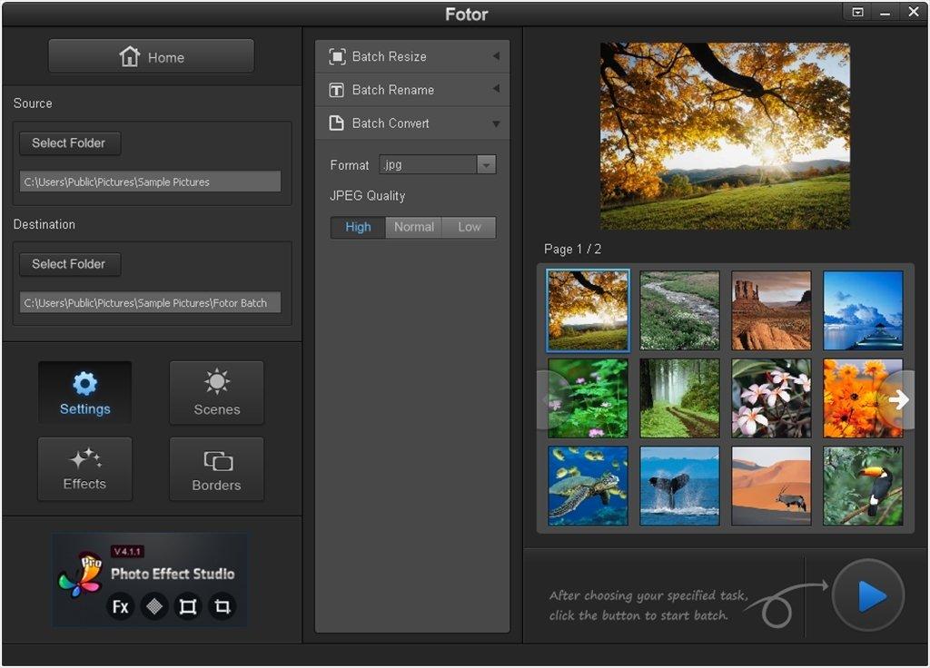 Fotor 3.6.4 - Télécharger pour PC Gratuitement