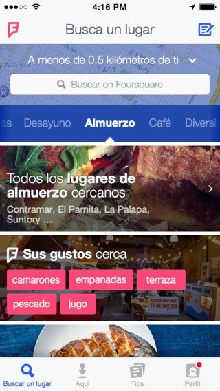 Foursquare iPhone image 5