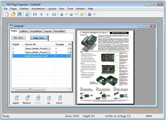 Foxit PDF Page Organizer image 4