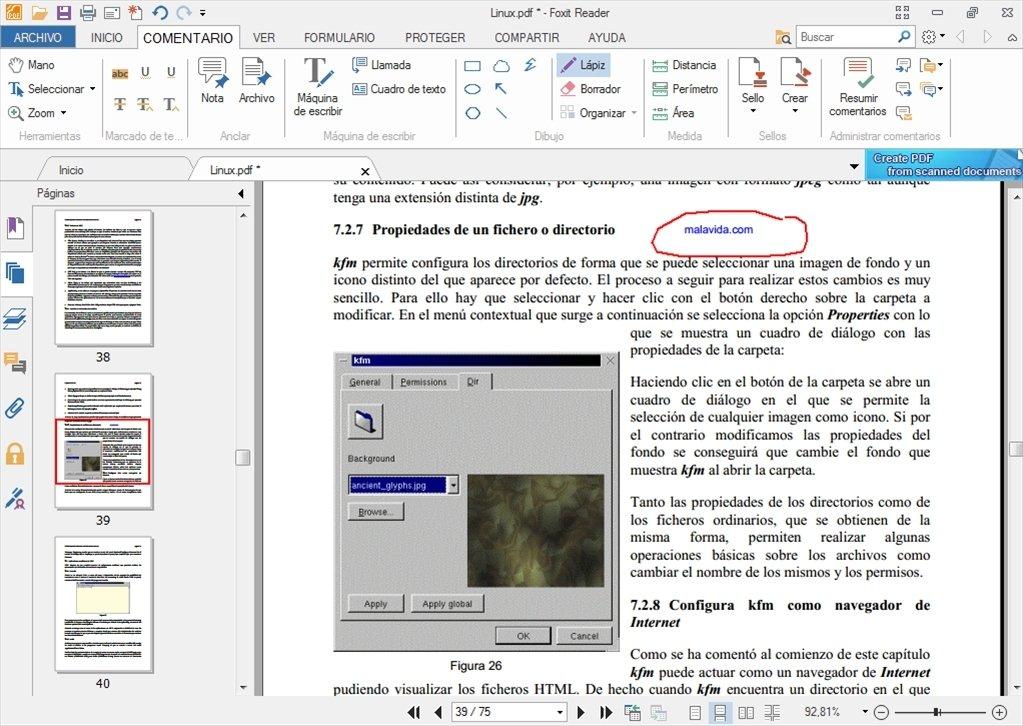 descargar lector pdf foxit reader