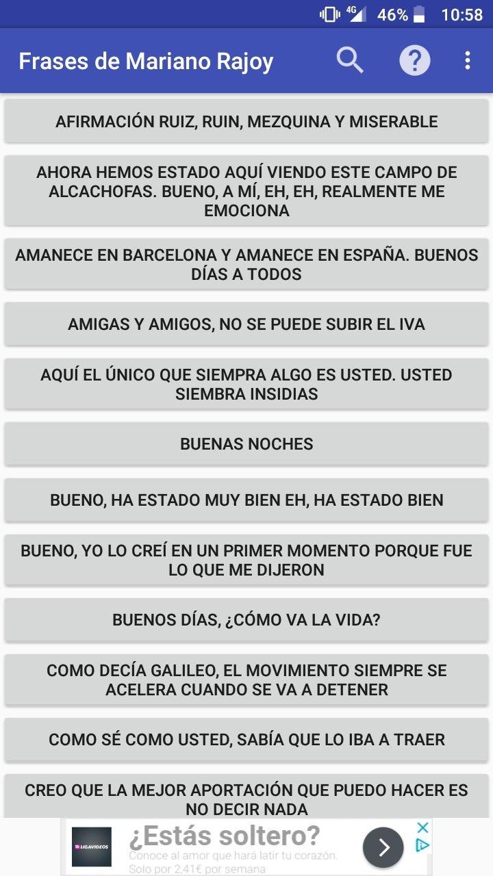 Frases De Mariano Rajoy 119 Descargar Para Android Apk Gratis