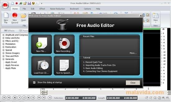 descargar free audio editor en espa?ol gratis