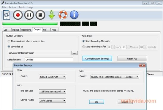 Free Audio Recorder 6 6 8 - Download for PC Free
