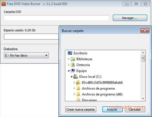 Free DVD Video Burner image 3